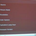 BENQ W-1000 Firmware Update