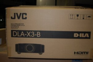 JVC DLA-X3 First Look