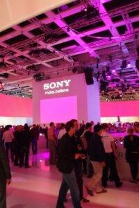 IFA 2012 SONY