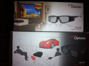 OPTOMA HD25 GLASSES