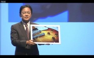 IFA 2013 - Panasonic 20' 4K TABLET 2