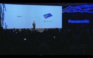IFA 2013 - Panasonic 20' 4K TABLET