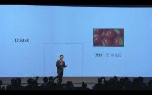 IFA 2013 - Panasonic 4K 55 4K OLED