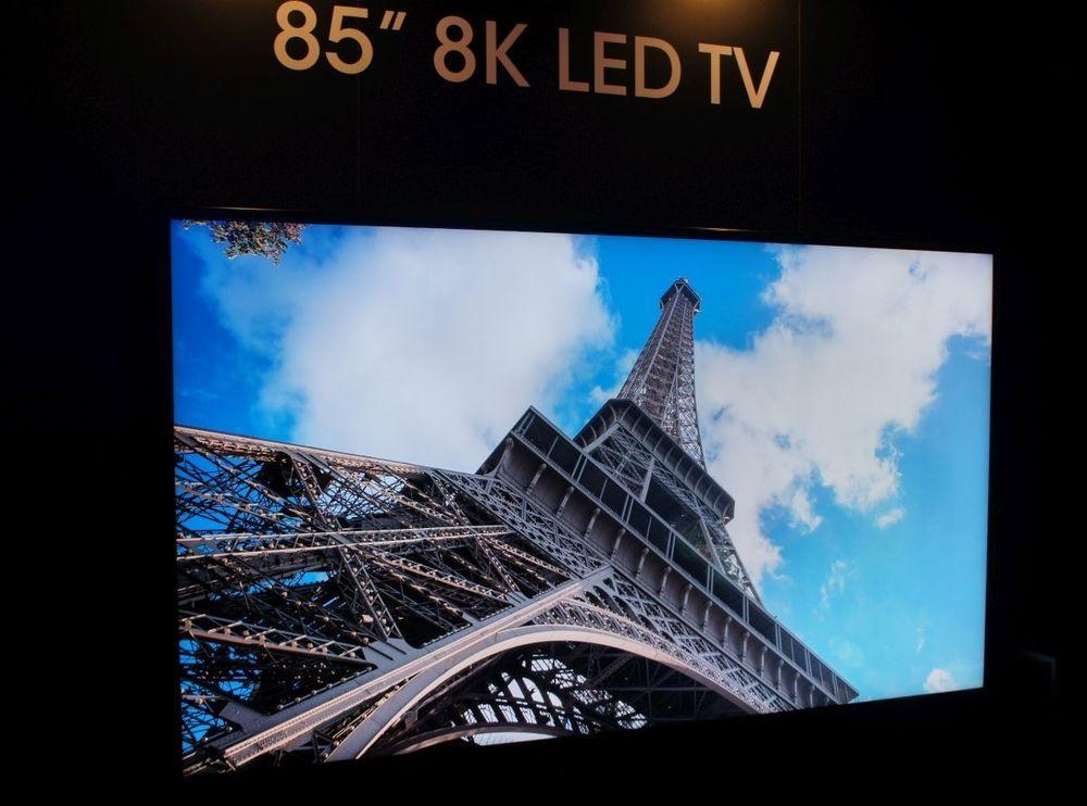 Sharp: 8K οθόνη στις 85′ στην ISE 2016