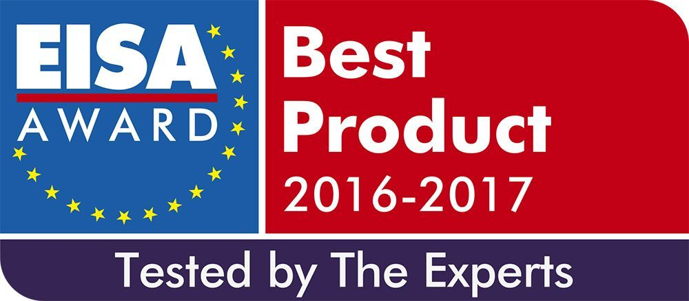 EISA Award Logo 2016-2017 Tested by the Experts outline with whi